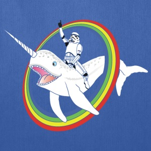 Narwhal Rainbow Stormtrooper - Tote Bag