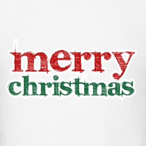 Merry Christmas Red Green - Men's T-Shirt