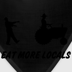 Eat More Locals T-Shirts - Bandana