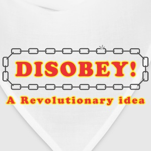 disobey_revolutionary T-Shirts - Bandana