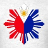 Pinoy Sun Flag Mens Filipino Tshirt - Men's T-Shirt