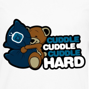 Cuddle Hard T-Shirts - Men's Premium Long Sleeve T-Shirt