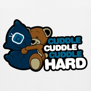 Cuddle Hard T-Shirts - Men's Premium Tank