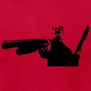 Machete - Priest with big guns Tanks - Men's T-Shirt by American Apparel