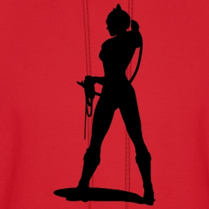 Sexy Bondage - Woman with whip T-Shirts - Men's Hoodie