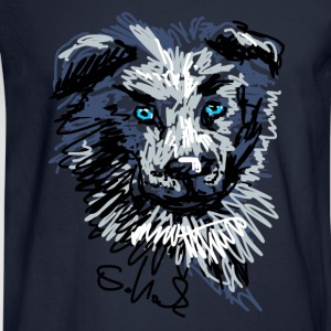 Ghosteyes - Men's Long Sleeve T-Shirt
