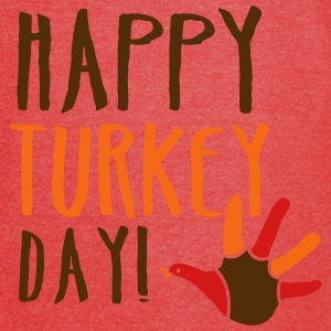 THANKSGIVING happy turkey day Bags & backpacks - Vintage Sport T-Shirt