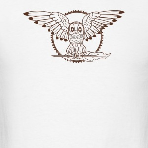Mystical Owl - Men's T-Shirt