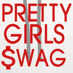 PRETTY GIRLS SWAG - Contrast Hoodie