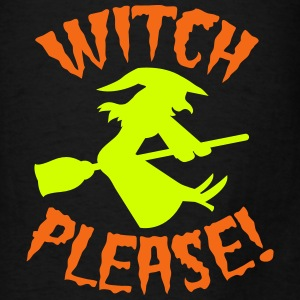 Witch please on a broomstick Halloween funny Bags & backpacks - Men's T-Shirt