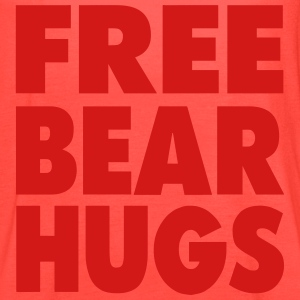FREE BEAR HUGS T-Shirts - Women's Flowy Tank Top by Bella