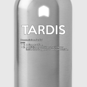 TARDIS OED DEFINITION - Water Bottle