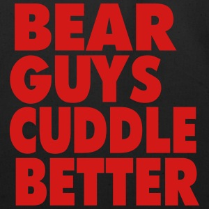 BEAR GUYS CUDDLE BETTER T-Shirts - Eco-Friendly Cotton Tote