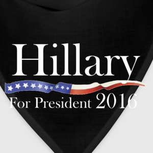 Hillary Clinton for President 2016 Election Shirt - Bandana