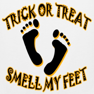 Trick or Treat Smell my Feet Kids' Shirts - Men's Premium Tank