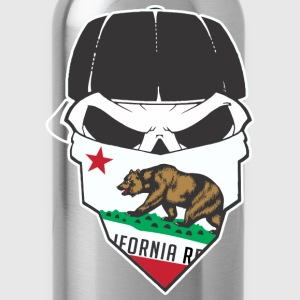 Cali Skull T-Shirts - Water Bottle