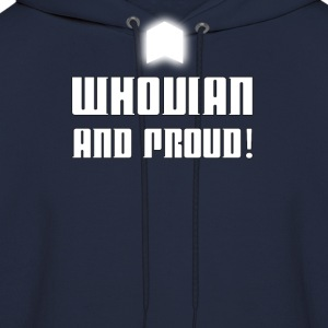 WHOVIAN AND PROUD! - Men's Hoodie