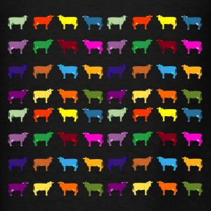 colorful cows Bags & backpacks - Men's T-Shirt