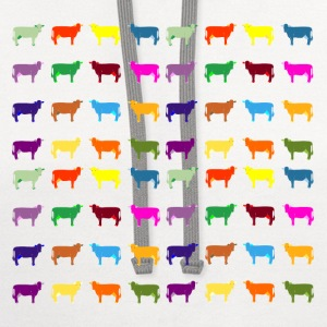 colorful cows T-Shirts - Contrast Hoodie