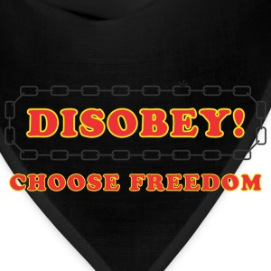 disobey_freedom T-Shirts - Bandana