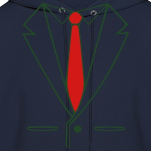 suit and tie T-Shirts - Men's Hoodie