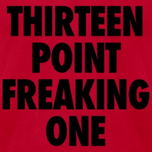 Thirteen Point Freaking One Tanks - Men's T-Shirt by American Apparel