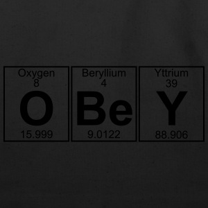 O-Be-Y (obey) - Full T-Shirts - Eco-Friendly Cotton Tote
