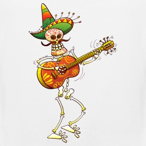 Mexican Skeleton Playing Guitar Phone & Tablet Covers - Men's Premium Tank