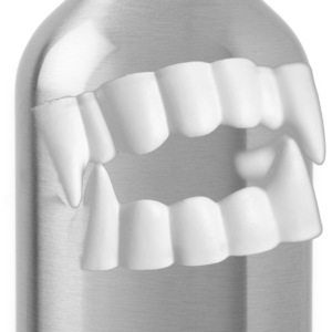 Vampire Teeth T-Shirt - Water Bottle
