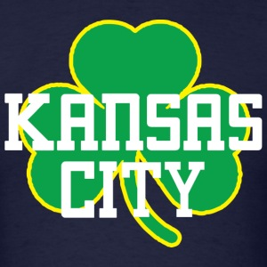 Kansas City Big Shamrock Long Sleeve Shirts - Men's T-Shirt