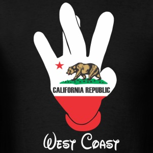 West Coast Cali Hoodies - Men's T-Shirt