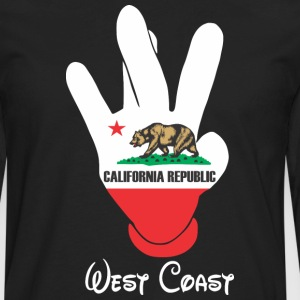 West Coast Cali Hoodies - Men's Premium Long Sleeve T-Shirt
