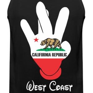 West Coast Cali Hoodies - Men's Premium Tank