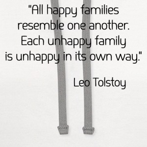 Leo Tolstoy on Happiness Tanks - Contrast Hoodie
