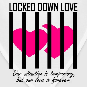 Locked Down Love - Black/Pink Hoodies - Bandana