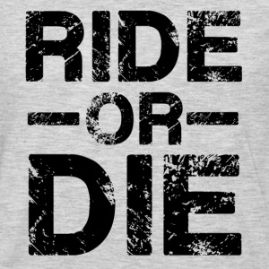 Ride Or Die Black Hoodies - Men's Premium Long Sleeve T-Shirt