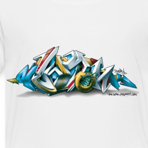 Phame Design for New York Graffiti  - 3D Style Kids' Shirts - Toddler Premium T-Shirt