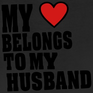 MY HEART BELONGS TO MY HUSBAND - Leggings