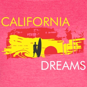 CALIFORNIA BEACH Tanks - Women's Vintage Sport T-Shirt
