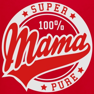 100 percent PURE SUPER MAMA 2C T-Shirt NW - Unisex Fleece Zip Hoodie by American Apparel