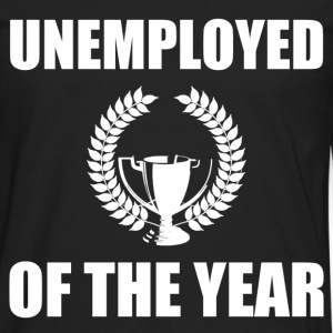 unemployed of the year - Men's Premium Long Sleeve T-Shirt