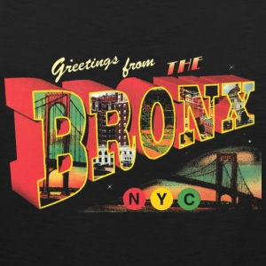 New York Bronx Post Card  Women's T-Shirts - Men's Premium Tank