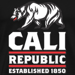 CALI Republic Established Tanks - Men's Premium T-Shirt