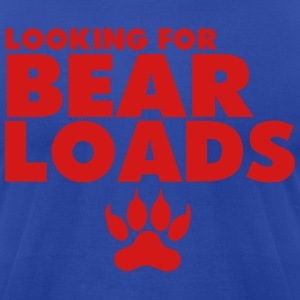 LOOKING FOR BEAR LOADS Hoodies - Men's T-Shirt by American Apparel