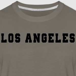 Los Angeles College T-Shirts - Men's Premium Long Sleeve T-Shirt