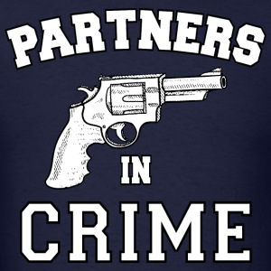 Partners In Crime Hoodies - Men's T-Shirt
