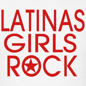 LATINAS GIRLS ROCK - Men's T-Shirt