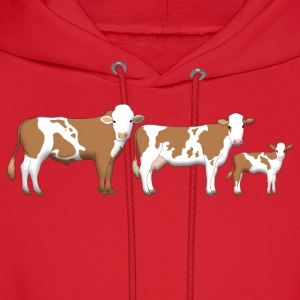 cows 2 Women's T-Shirts - Men's Hoodie