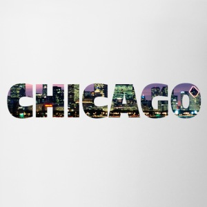 Chicago Skyline Text - Coffee/Tea Mug
