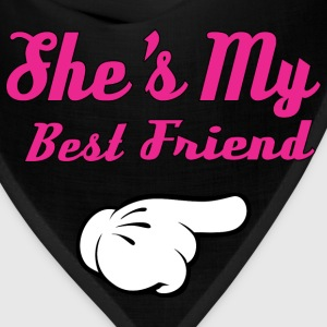 She's My Best Friend Hoodies - Bandana